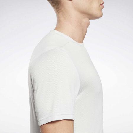 Мъжка тениска - Reebok WORKOUT READY MELANGE SS TECH TEE - 6