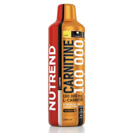 Nutrend CARNITINE 100000 1L CITRON - Karnitínový doplnok