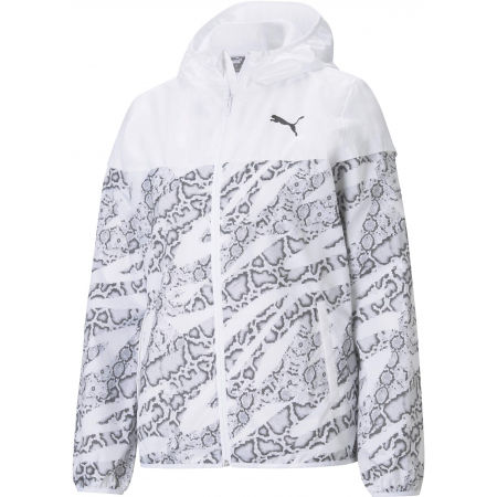 Puma ESSENTIALS AOP WINDBREAKER - Dámská bunda