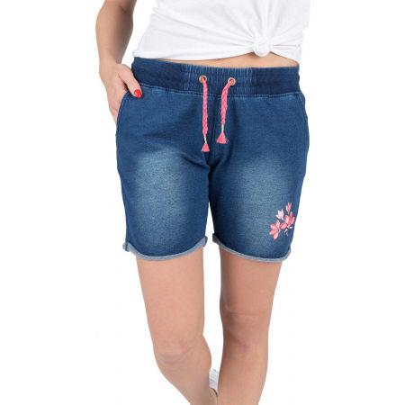 Willard PALLA - Women's shorts with a denim look
