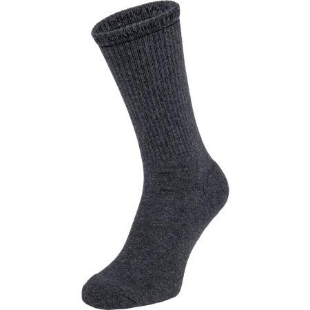 Pánské ponožky - Calvin Klein MENS 2PK CREW CK JEANS  MONOGRAM JOHN - 4