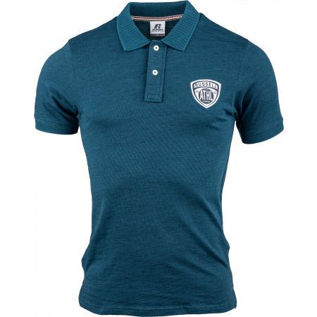 Russell Athletic STRIPED POLO - Мъжка тениска