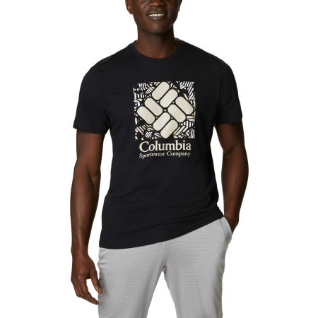 Columbia M RAPID RIDGE GRAPHIC TEE