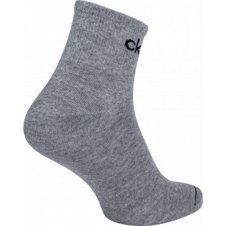 Pánské ponožky - Calvin Klein MEN QUARTER 3P NICK - 7