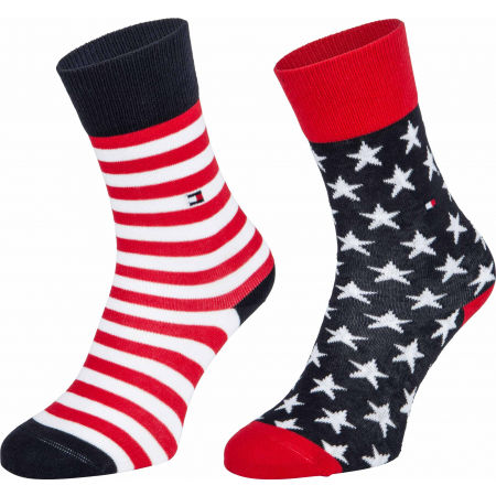 Tommy Hilfiger KIDS SOCK 2P STARS AND STRIPES - Șosete de copii