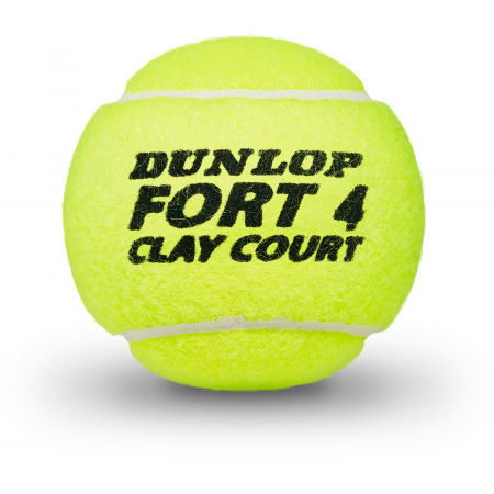 Tenisové míče - Dunlop FORT CLAY COURT 4 KS - 2