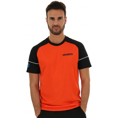 Pánske športové tričko - Lotto LOGO V TEE RGL PL - 4