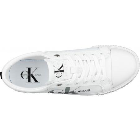 Dámské tenisky - Calvin Klein VULCANIZED SNEAKER LACEUP PES - 5