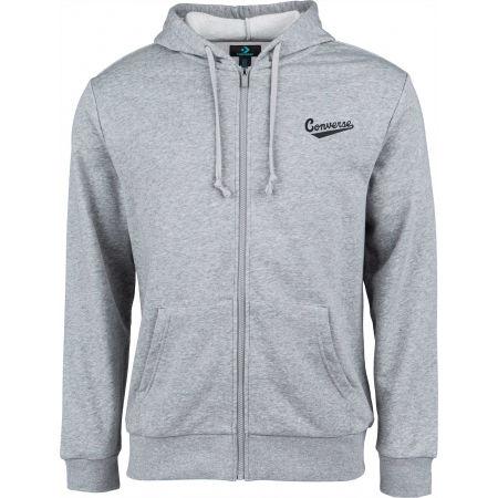 Converse NOVA FULL ZIP HOODIE FT - Men's sweatshirt