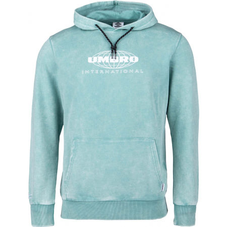 Umbro WASHED GRAPHIC HOODIE - Férfi pulóver