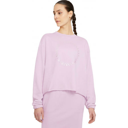 Nike NSW ICN CLASH CREW FT W - Damen Sweatshirt