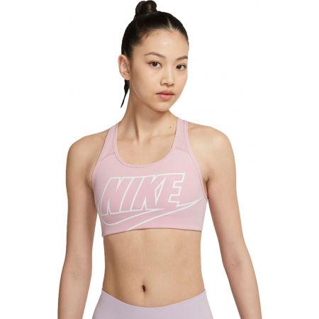 Nike SWOOSH FUTURA BRA - Sutien sport damă