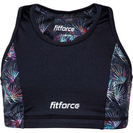 Fitforce SNOOTY - Dievčenská fitness podprsenka
