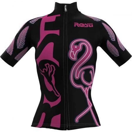 Rosti W FLAMINGO - Tricou ciclism damă