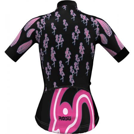 Dámský cyklistický dres - Rosti W FLAMINGO - 3