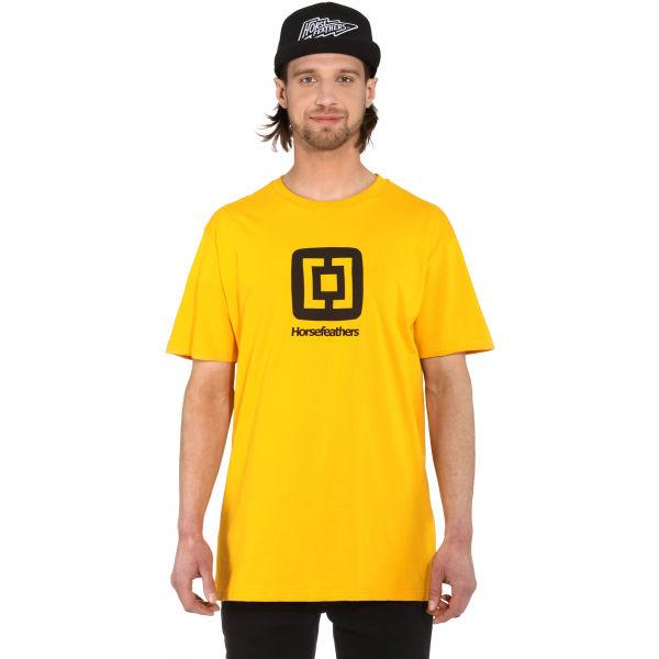 Horsefeathers FAIR T-SHIRT  M - Pánské tričko