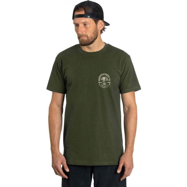 Horsefeathers FANG T-SHIRT  M - Pánské tričko