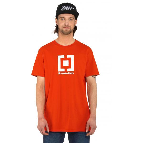Horsefeathers BASE T-SHIRT  XL - Pánské tričko