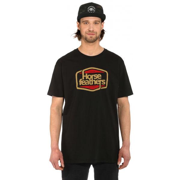 Horsefeathers CORNICK T-SHIRT  M - Pánské tričko