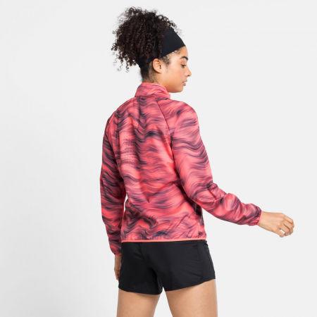 Women's jacket - Odlo JACKET ESSENTIAL LIGHT PRINT - 4