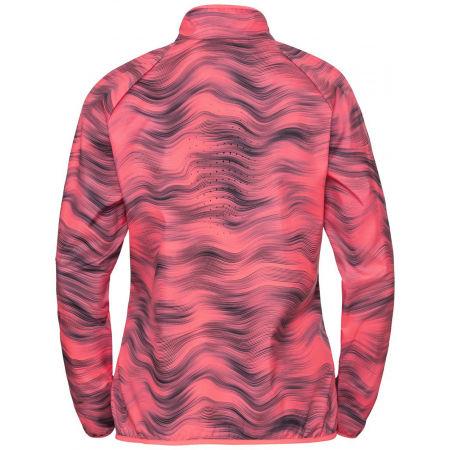 Women's jacket - Odlo JACKET ESSENTIAL LIGHT PRINT - 2