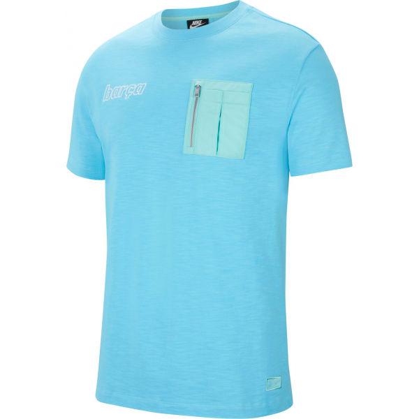 Nike FCB M NSW ME TOP SS  2XL - Pánské tričko