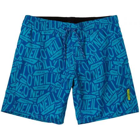 O'Neill PB STICKERPRINT SHORTS - Chlapecké šortky do vody