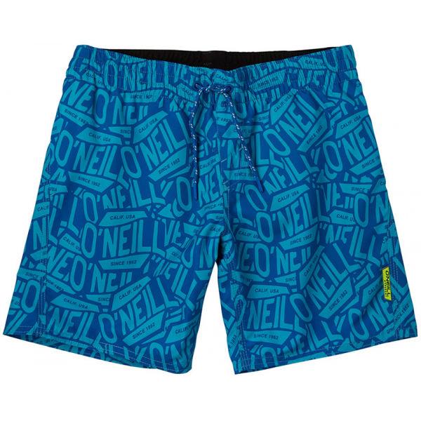 O'Neill PB STICKERPRINT SHORTS  140 - Chlapčenské šortky do vody