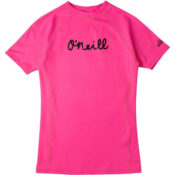 O'Neill PG ONEILL SS SKINS  8 - Dívčí tričko do vody