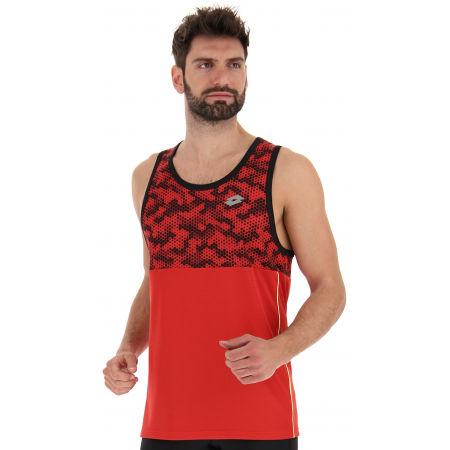 Lotto SPEEDRUN IV TANK PL - Koszulka sportowa męska