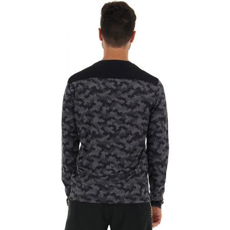 Мъжка спортна блуза - Lotto SPEEDRUN IV TEE LS PRT PL - 5