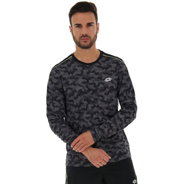 Lotto SPEEDRUN IV TEE LS PRT PL  2XL - Pánské sportovní tričko