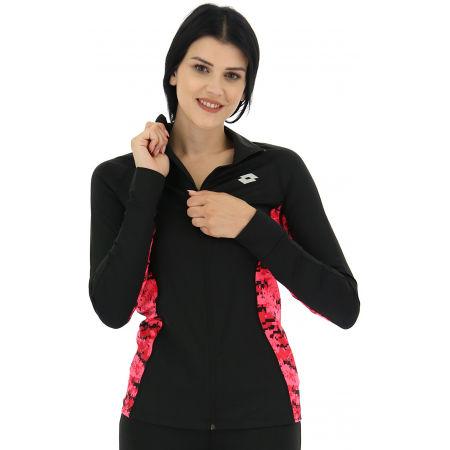 Bluza sportowa damska - Lotto SPEEDRUN W III SWEAT FZ PRT PL - 4