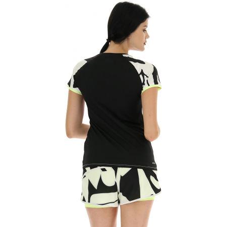 Дамска тениска за тенис - Lotto TOP TEN W II TEE PRT PL - 5