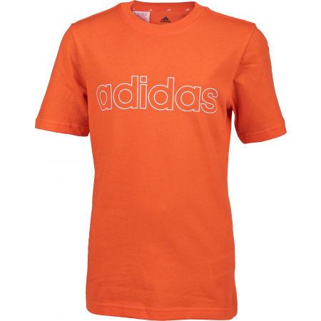 adidas LIN TEE - Koszulka chłopięca
