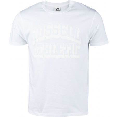 Russell Athletic S/S CREW NECK TEE SHIRT WHI