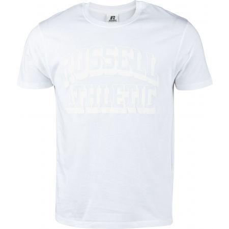 Russell Athletic S/S CREW NECK TEE SHIRT WHI - Koszulka męska