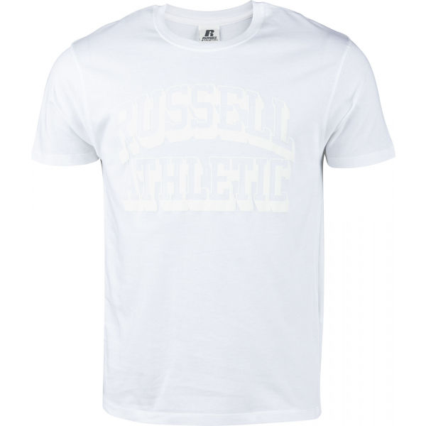 Russell Athletic S/S CREW NECK TEE SHIRT WHI  M - Pánske tričko