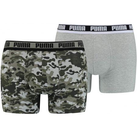 Puma MEN CAMO BOXER 2P - Bokserki męskie