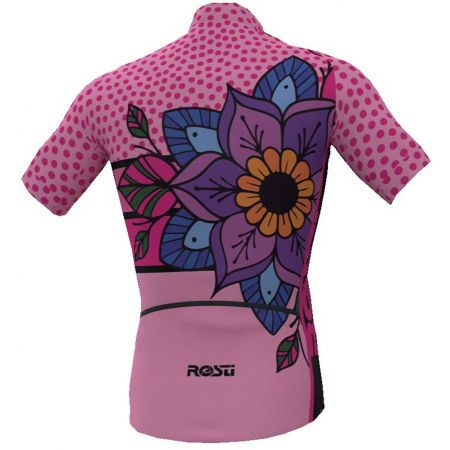 Tricou ciclism damă - Rosti MANDALA W - 2