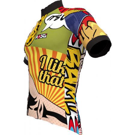 Мъжка блуза за колоездене - Rosti POP ART - 2