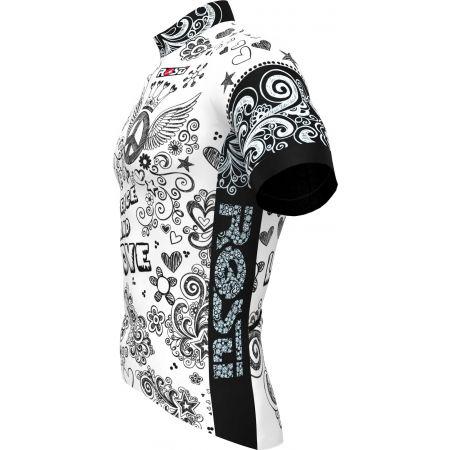 Tricou ciclism bărbați - Rosti PACE AND LOVE - 2