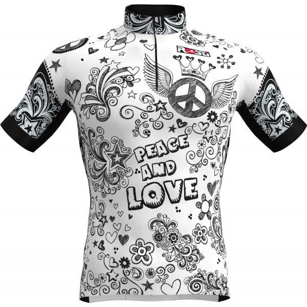 Rosti PACE AND LOVE  3XL - Pánsky cyklistický dres