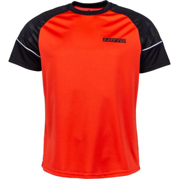 Lotto LOGO V TEE RGL PL  M - Pánske športové tričko