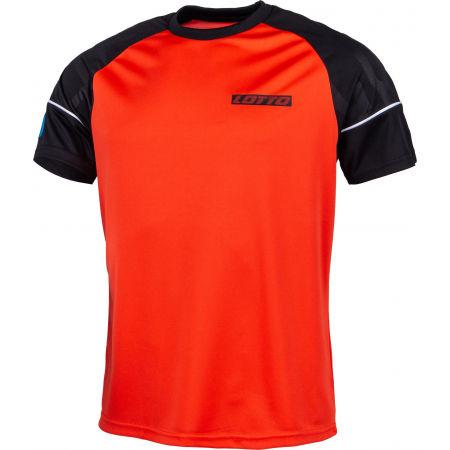 Pánske športové tričko - Lotto LOGO V TEE RGL PL - 2