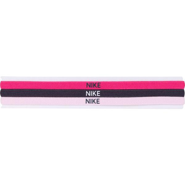 Nike ELASTIC HAIRBANDS 3PK  UNI - Dámské sportovní čelenky