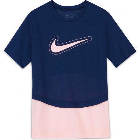 Nike DRY TROPHY SS TOP G - Dívčí tréninkové tričko
