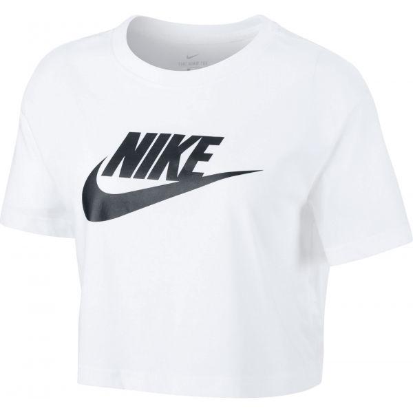 Nike NSW TEE ESSNTL CRP ICN FTR W  XS - Dámské tričko