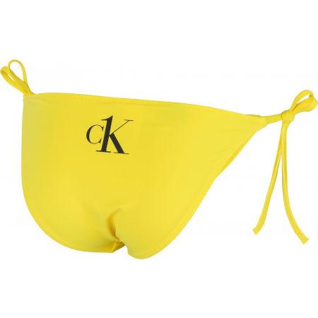 Дамски бански - независима долна част - Calvin Klein STRING SIDE TIE - 3