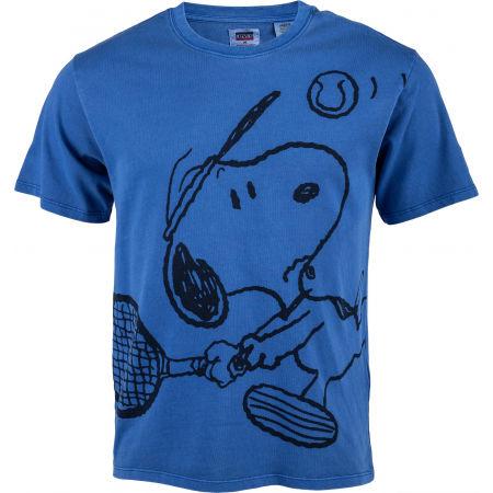 Koszulka męska - Levi's GRAPHIC RLXED OVERSZE - 1